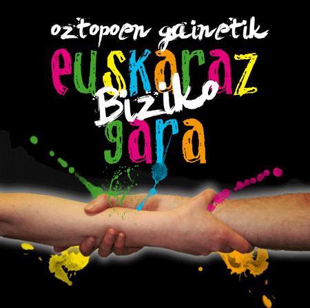 O28 manifestazioa Donostian: Oztopoen gainetik euskaraz biziko gara!