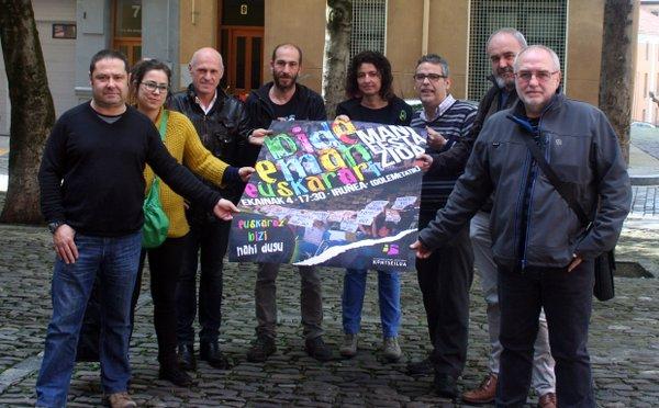 Euskalgintzak manifestazioa egingo du ekainaren 4an Iruñean