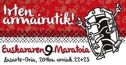 Euskararen 9. maratoia asteburuan Lasarte-Orian