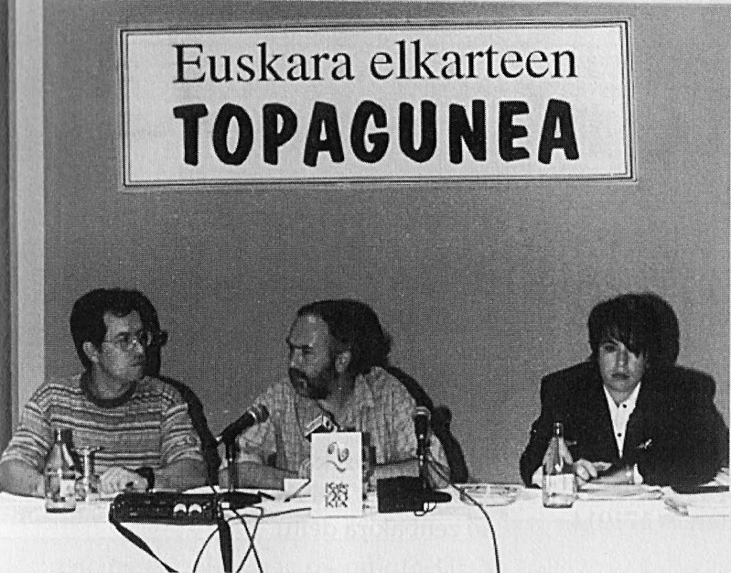 Euskaltzaleen Topaguneak 20 urte