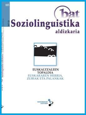 Topaldian egindako ekarpenak BAT soziolinguistika aldizkarian