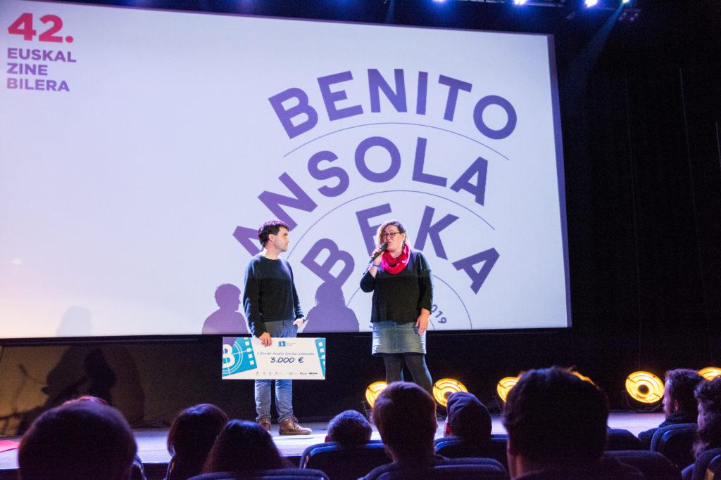 Emisio Etena lanak irabazi du Benito Ansola V. Saria